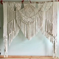 Teppichmuster Boho Macrame Wall Hanging-Handmade Art-Woven Wall Hanging-Macrame Wedding Backdrop - Macrame Curtains - Macrame Patterns W x H 70 Macrame Mirror, Macrame Curtain, Large Macrame Wall Hanging, Macrame Plant Hangers, Tapestry Wall Hanging, Boho Curtains, Wall Hangings, Wall Drapes, Wall Tapestries