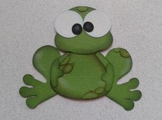 SCRAPBOOK PAPER PIECING FROG ANIMAL TINY TREASURE KIDS  BY MY TEAR BEARS KIRA from My Tear Bears