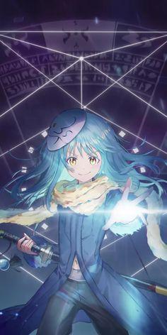 Slime Wallpaper, Wallpaper Animes, Anime Wallpaper Live, Anime Scenery Wallpaper, Animes Wallpapers, Cute Anime Pics, Anime Girl Cute, Kawaii Anime Girl, Anime Art Girl