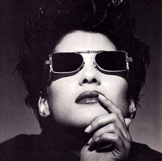 L.A. Eyeworks, Details magazine, February 1990. Photograph by Greg Gorman.