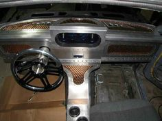 Custom Sheet Metal Interior Hand Built And Fabricated For