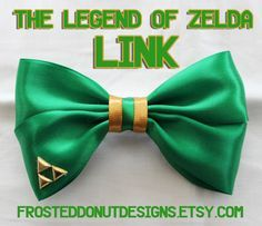 zelda hair bow - Google Search