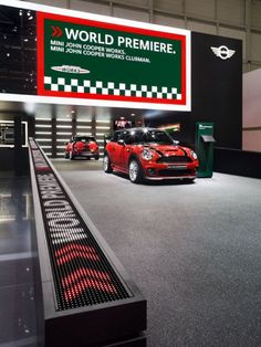 Best Auto Show Images On Pinterest In Booth Design - Car show booth