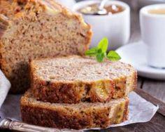 Banana bread léger sans beurre : http://www.fourchette-et-bikini.fr/recettes/recettes-minceur/banana-bread-leger-sans-beurre.html
