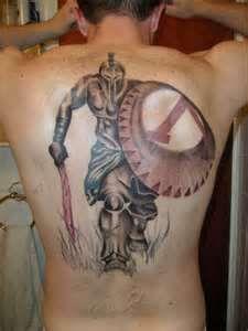 Spartan Warrior Tattoo 97153jpeg
