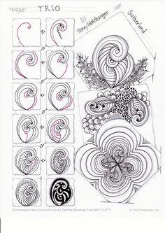 Zentangle ® Zurich Zen & Patterns - Zenjoy Zentangle ® Zurich Switzerland
