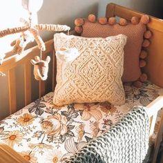 Peyton's Vintage Floral Crib Sheet | Caden Lane