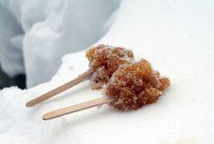 MapleTaffy/Maple Sugar on Snow - http://www.foodonthefood.com/food_on_the_food/2011/01/snow-day-3-maple-sugar-on-snow.html#