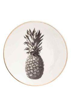 Talerzyk z motywem ananasa