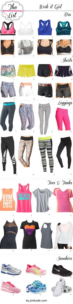 cute workout gear stylish workout clothes Work It Girl #2