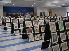 Artome provides the frames and display, then frames are for sale at the event. Artwork is not for sale, only frames. Artwork goes home at the end of the year because it belongs to the artists. Interesting ...