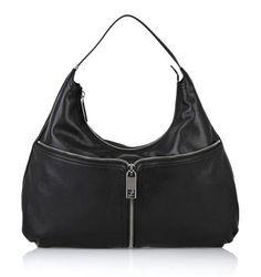 Fendi city leather hobo bag