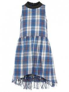 How to Make Your Plaid Dress Feel Summer-Appropriate via @WhoWhatWear
