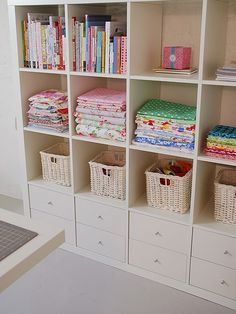 Ikea cabinet with drawers fitted. Put one of these on each side of a diy murphy bed in guest bedroom
