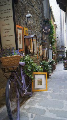 A legszebb utcácska Cortonában