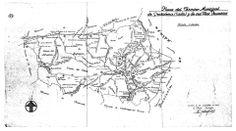 Croquis vías pecuarias Grazalema