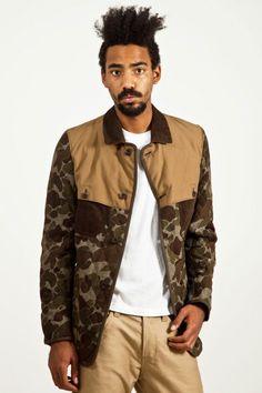 Junya Watanabe COMME des GARÇONS MAN - camoflage jacket