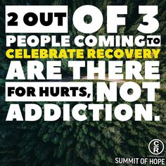 Celebrate Recovery, It Hurts, Addiction, Celebrities, Celebs, Celebrity, Famous People
