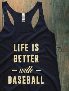 Show everyone how much you love baseball with this Suzy Squats baseball fan top, suitable as part of your game day outfit or for casual wear. Click the link above to see more sports clothing that's perfect for even the most intense baseball game at the Suzy Squats store.