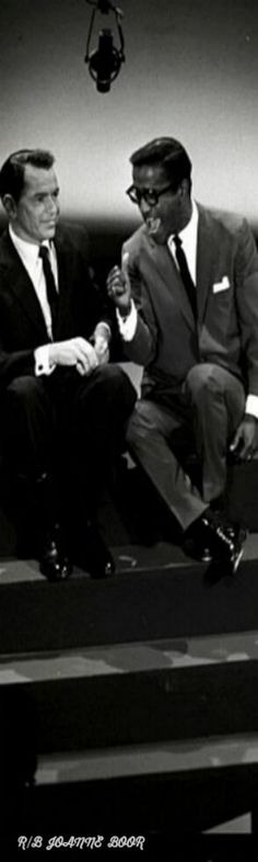 RIP FRANK & SAM.....FRANK AND SAMMY DAVIS JR.