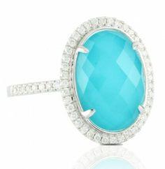 Dove's | Turquoise & Diamond Ring
