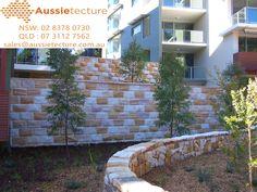 Split Blocks Australian Sandstone – Alternative Home Natural Stone Wall, Natural Stones, Stone Supplier, Land Use, Wall Cladding, Make It Simple, Pond, Sydney, Garden Design