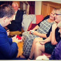 Original photo by KT wwww.kt-photo.com Close up magic at its best: right under their noses. Bringing astonished reactions to your guests up close. Wonderful fun working at Cressbrook Hall in the Peak District.  http://ift.tt/1S7ovau  #relaxed #magic #magicforhire #magician #eventmagician #weddingmagician #relaxedmagic #weddingentertainment #peakdistrictwedding #cressbrookhallcottages #cressbrookhall @cressbrook_hall