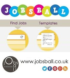 Find our jobs and use our templates to apply online  www.jobsball.co.uk