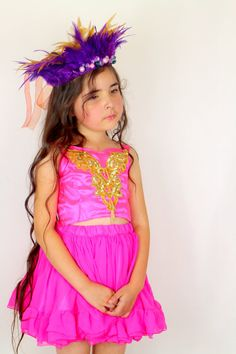 Girls Pink and Gold Dress  Pink Party by FriolinaFancyDesigns, $60.00
