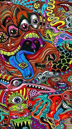 Psychedelic modern Hippy by daria14   Redbubble