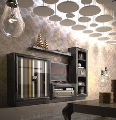 Ambiente Salon Moderno Java - Modern Living Room Java
