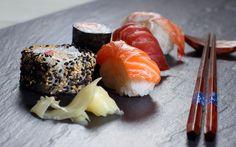 Japanese Sushi Food Image Photography Desktop Background Wallpaper HD Widescreen