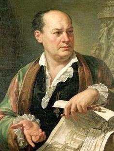 Giovanni Battista Piranesi, di Pietro Labruzzi, 1779