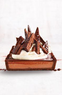 Say no more. No Bake Desserts, Just Desserts, Delicious Desserts, Dessert Recipes, Dessert Tarts, Sweet Pie, Sweet Tarts, Decadent Chocolate, Chocolate Desserts