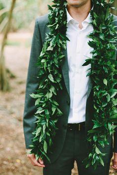 hawaii groom // photo by Pat Furey // View more: http://ruffledblog.com/hawaiian-island-wedding/
