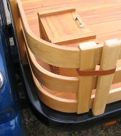 Custom flatbed with bent wood in the wood stake sides Chevy Pickup Trucks, Chevy Pickups, Chevy Trucks, Hot Rod Trucks, Cool Trucks, Custom Truck Flatbeds, Custom Flatbed, Custom Cars, Truck Bed Trailer