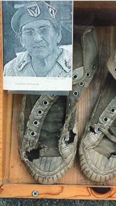 Grandma Gatewood, the first female Appalachian Trail thur-hiker, proved that having the newest boots wasn't essential for completing a thru-hike. Grit And Grace, Thru Hiking, Ultralight Backpacking, Mountain Hiking, Appalachian Trail, Badass Women, Outdoor Life, Survival, Woman