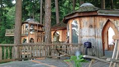 Luxury treehouse on Orcas Island in Washington state is truly a unique getaway.