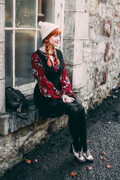 Remix: Three Ways To Wear An Oxblood Floral Dress