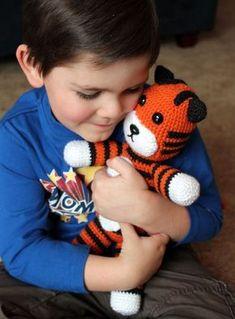 Free Crochet Tiger (Hobbes) Pattern