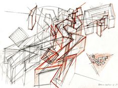 How Architecture Is Born: 7 Poetic Sketches by Daniel Libeskind and the Buildings They Helped to Shape - Architizer