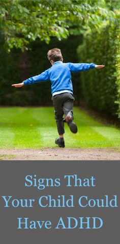 Do you know the early signs of ADHD? Great tips here for parents, teachers, and more