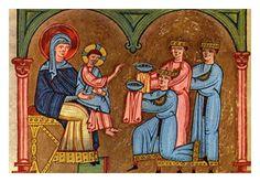 evangeliario di matilde di canossa, Nonantola