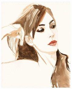 titouan lamazou - Recherche Google Atelier D Art, Pretty Images, Edgar Degas, Gustav Klimt, Mans World, Claude Monet, Portraits, Art Plastique, Female Art