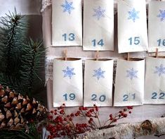 TP roll advent calendar - Brilliant! Goodness knows we make enough of these.
