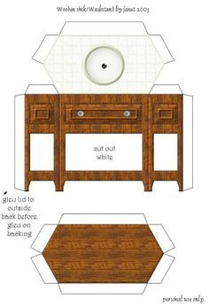 printable dollhouse accessories - Google Search