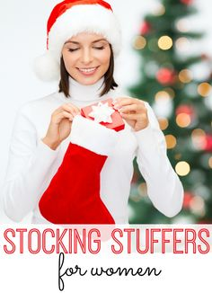 More than 20 Stocking Stuffer ideas for every woman on your list.