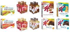 Country Mouse, City Mouse: Kellogg's Introduces New Products to Canadians! Snack Recipes, Healthy Recipes, Snacks, Little Kittens, Recipe Link, Meals For The Week, Pop Tarts, New Product, Chips
