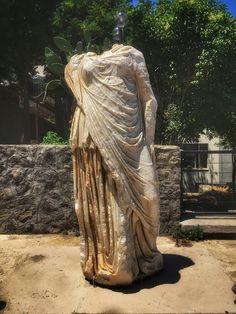 İzmir Etnoğrafya Müzesi-Efes'ten getirilmiş bir heykel Statue, Sculptures, Sculpture