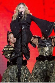 "Madonna kicked off her ""Rebel Heart Tour"" to a packed crowd in Montreal"
